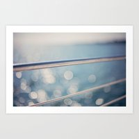 sailing Art Prints featuring sailing by shannonblue
