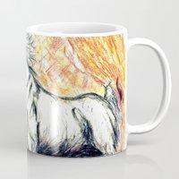 unicorn Mugs featuring Unicorn by Stephanie Stonato