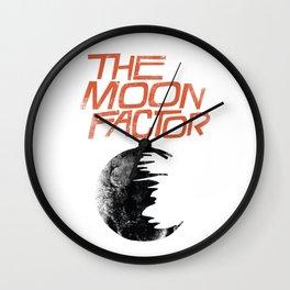 The Moon Factor Wall Clock