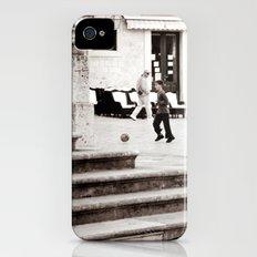 Soccer in the Square iPhone (4, 4s) Slim Case