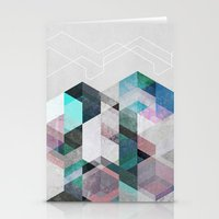 nordic Stationery Cards featuring Nordic Combination 23 by Mareike Böhmer