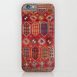 Borjalou Kazak  Azerbaijan Southwest Caucasus Rug Print iPhone Case