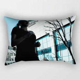 Keep on Running, Keep on Hiding Rectangular Pillow