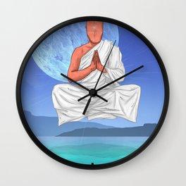 Water Chakra. Wall Clock