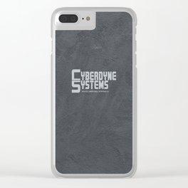 TERMINATOR - Cyberdyne Systems (1984) Clear iPhone Case