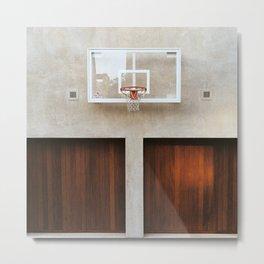 Basket Ball Hoop - Hoop Dreams Metal Print