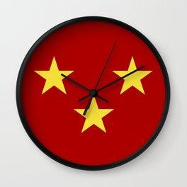 sutherland flag Wall Clock