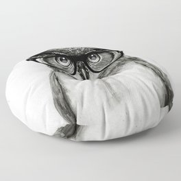 Mr. Owl Floor Pillow
