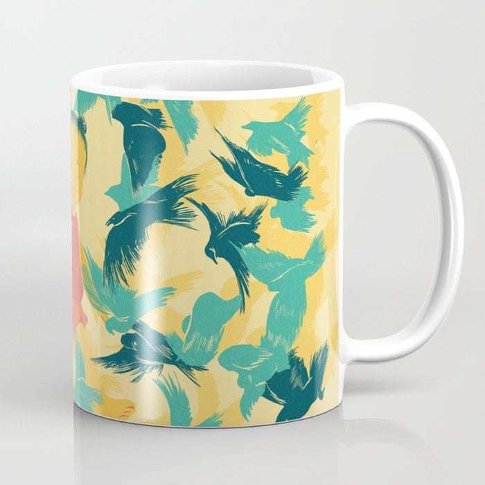 And A Little Girl Who Only Wished To Fly Coffee Mug