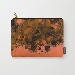 paint splatter on gradient pattern or Carry-All Pouch