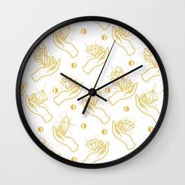 Cyrstal Magic Wall Clock