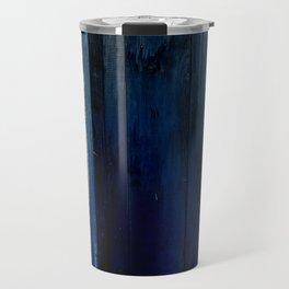 blue door Travel Mug