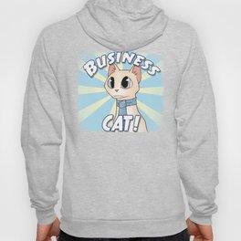 Business Cat! Hoody