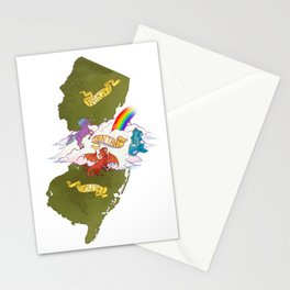 Central Jersey Doesn't Exist Stationery Cards