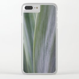 Agave Macro Clear iPhone Case