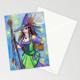 Witch Lights Stationery Cards