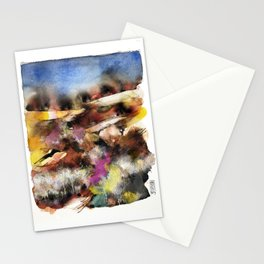 Abstract Tuscan Landscape Stationery Cards
