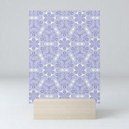 FRACTAL CROWN HYDRANGEA PATTERN Mini Art Print