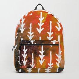 Orange Arrows Backpack