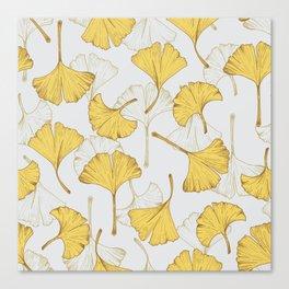 Ginkgo Pattern Canvas Print