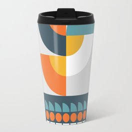 Geometric Plant 01 Travel Mug