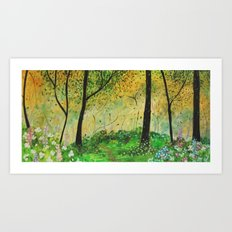 forestry Art Print