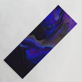 Dark Purple Blue Galaxy - Midnight Shades Yoga Mat