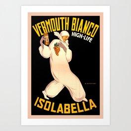 Italian Vermouth, join the high life Art Print