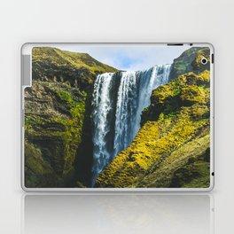 Subtle Skógafoss Laptop & iPad Skin