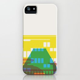 Shapes of Rio. Accurate to scale iPhone Case