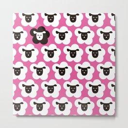 sheeps lp Metal Print