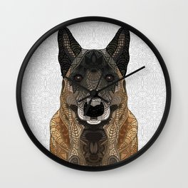 Malinois - Belgian Shepherd Wall Clock