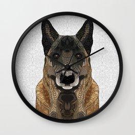 Malinois - Belgian Shepherd Wall Clock