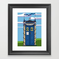 Fairytales & Relative Dimensions In Space Framed Art Print