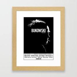 Bukowski Framed Art Print