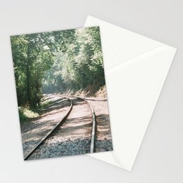 Track tracks below Red Bluff Stationery Cards