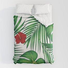 Tropical Summer illustration Comforters