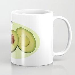 Avocadon't (White) Coffee Mug