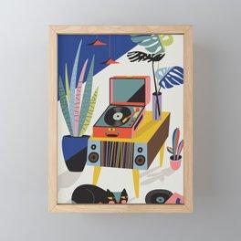 Chill out Saturday Framed Mini Art Print