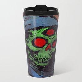 Occult Macabre Metal Travel Mug