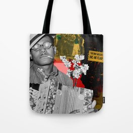 the new negro has no fear Tote Bag