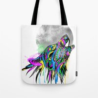 howl Tote Bags featuring Howl by Kyle Naylor