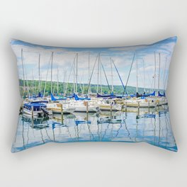 Glen Harbour Marina Rectangular Pillow