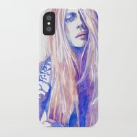 cara iPhone & iPod Cases featuring Cara by Ava Carmen