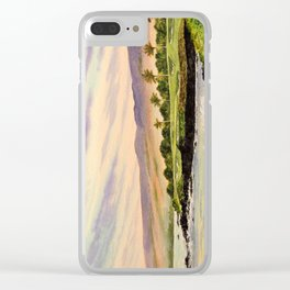 Mauna Kea Golf Course Hawaii Hole 3 Clear iPhone Case