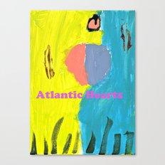 Atlantic Hearts Canvas Print