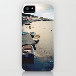 Whitby Row Boats iPhone Case