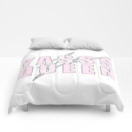 YASSS QUEEN (PINK) Comforters