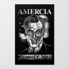 Zomney for Amercia Canvas Print