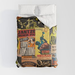 Louis Armstrong Comforters